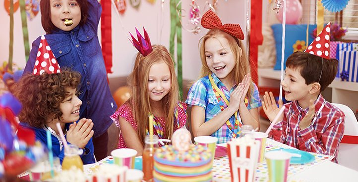 CHILDREN BIRTHDAY PARTIES