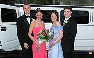 Junior Prom Limo