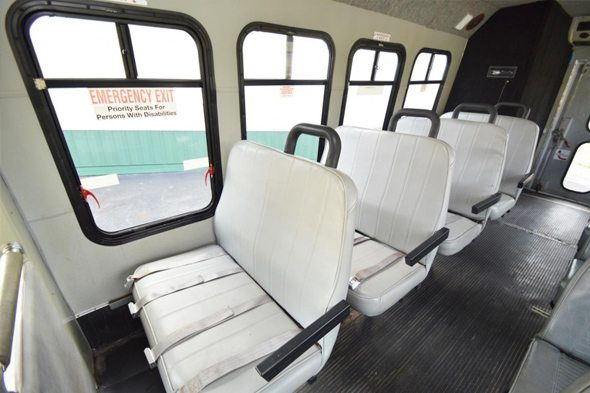 Bus 41 Interior Seating
