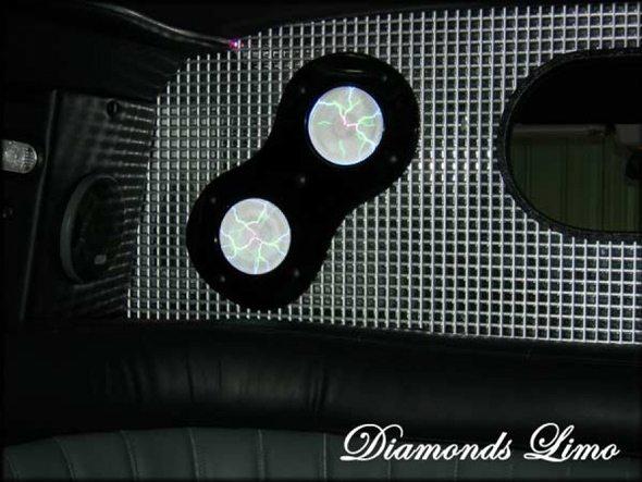 Hummer H2 Speakers Interior