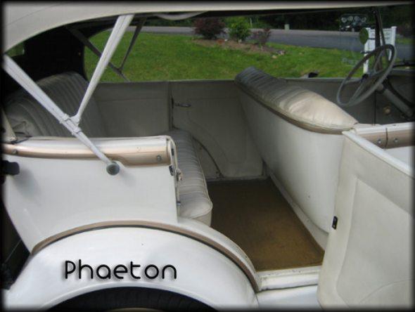 Ford Phaeton Interior