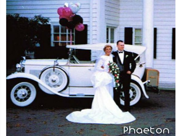 Ford Phaeton Wedding