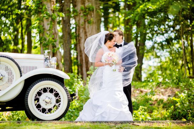 Wedding Couple and Phaeton